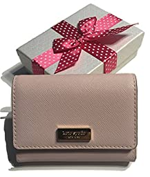 Kate Spade Newbury Lane Large Holly Business Card Case Holder WLRU2350 Posy Pink with Bagity Gift Box