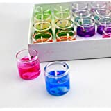 Jelly Glass Jar Candles For Home Decoration - 24pcs Set