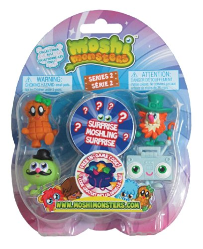 Moshi Monsters Toy - Series 2 (5-Pack) - 1