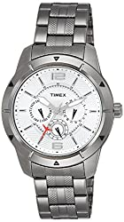 Timex E-Class Analog Silver Dial Mens Watch - TI000I60700