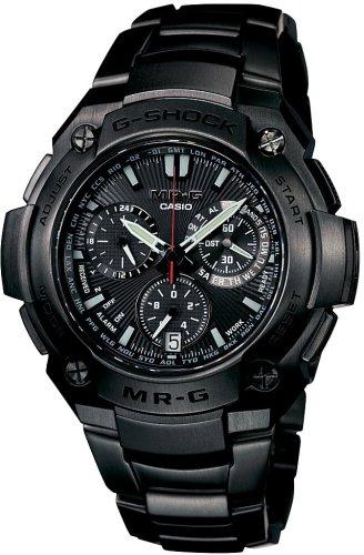 CASIO (カシオ) 腕時計 G-SHOCK MR-G クロノグラフ タフソーラー 電波時計 MULTI BAND5 MRG-8000B-1AJF