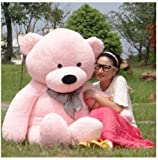 "Christmas Gift Toys Animal Pink 47"" Giant Huge Cudd"