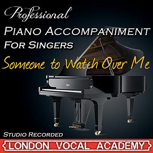 Someone To Watch Over Me ('I Dreamed A Dream & Susan Boyle' Piano Accompaniment) [Professional Karaoke Backing Track]