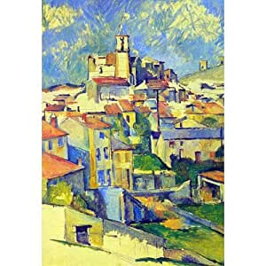 (13x19) Paul Cezanne Gardanne Art Print Poster