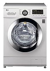 LG F1296ADP23 Fully-automatic Front-loading Washing Machine (8 Kg, Blue White)