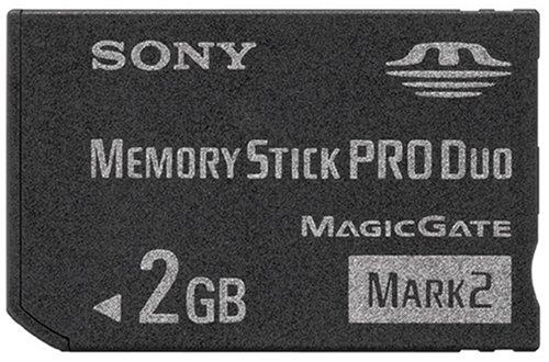 SONY メモリースティック Pro Duo Mark2 2GB MS-MT2G ソニー