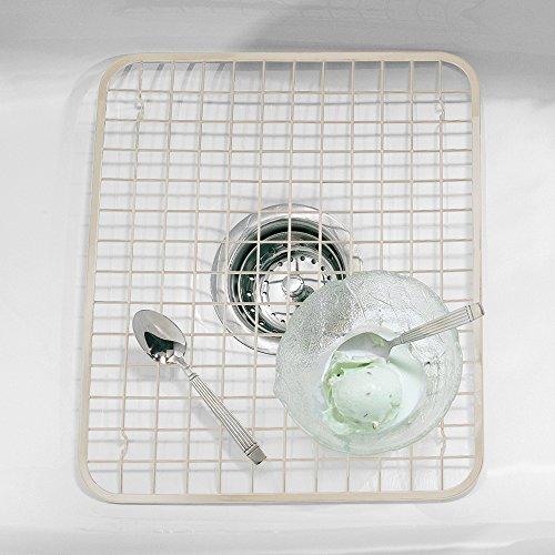 interdesign kitchen sink protector grid mat regular