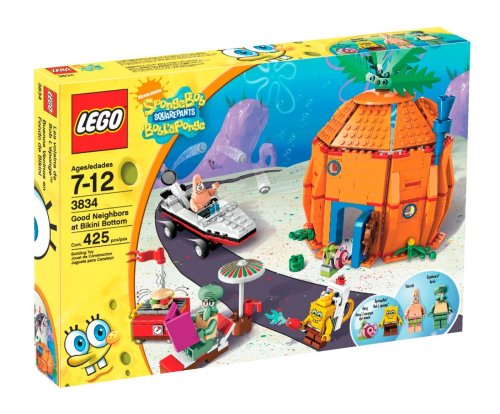 LEGO Good Neighbors at Bikini Bottom 3834 Amazon.com
