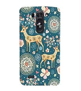 printtech Animal Pattern Back Case Cover for LG G3 Beat::LG G3 Vigor::LG G3s::LG g3s Dual