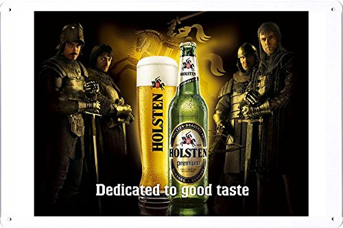 tin-sign-metal-poster-plate-8x12-of-holsten-knights-by-food-beverage-decor-sign