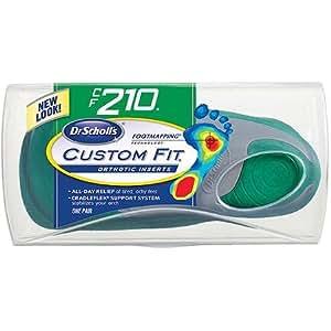 Amazon.com: Dr. Scholl's Custom Fit Orthotics CF 210 Shoe Sole Insole