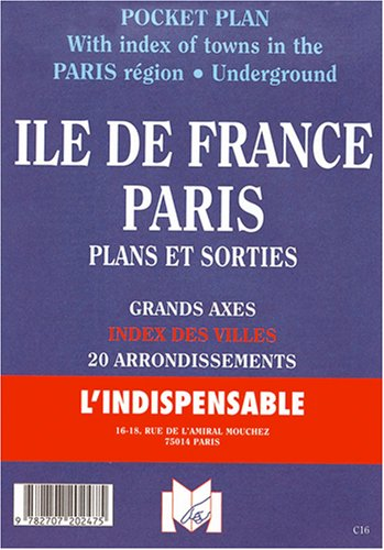Plan de ville : Île-de-France - Paris + Sorties