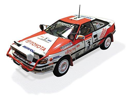 beemax-no-8-1-24-st165-celica-gt-four-90-safari-rally-type-plastic-model-figure-collection-race-spor