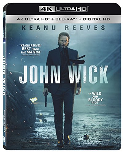 John Wick [4K Ultra HD + Blu-ray + Digital HD]