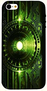 Stunning multicolor printed protective REBEL mobile back cover for iPhone 5C D.No.N-L-14461-IP5C