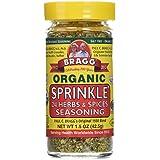 Bragg Organic Sprinkle Seasoning 1.50 Ounces (2 Count)