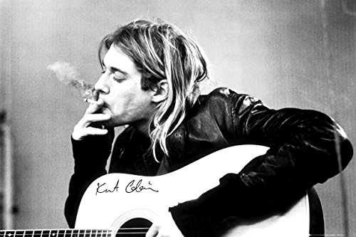 GB eye LTD, Kurt Cobain, Smoking, Maxi Poster, 61 x 91,5 cm