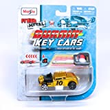 Knuckle Dragger (Gold) * Burnin' Key Cars * Maisto Fresh Metal Car with Classic Key Launcher
