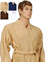 Kimono Bathrobe Men and Women Ringspun Cotton Terry