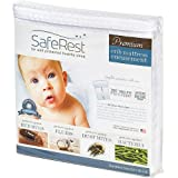 "SafeRest Premium Hypoallergenic Waterproof Certified Bed Bug Proof Crib Mattress Encasement - Vinyl, PVC and Phthalate Free - (52"" x 28 x 6 in.)"