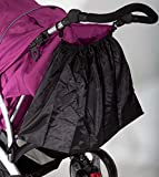 Simo Shopping Bag Bolsa de la compra Shopping funda cochecito Twins bebé niño niños Black Géminis Negro