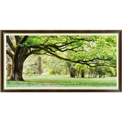 pixnor gez hlten kreuzstich green tree 111x55cm. Black Bedroom Furniture Sets. Home Design Ideas