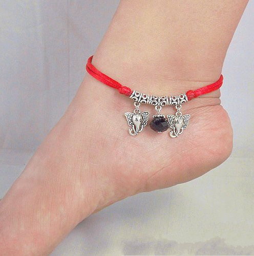 Tibetan Silver Sterling Silver Bangle Anklet Chain Bracelet Jewellery Quality Style NO.3015