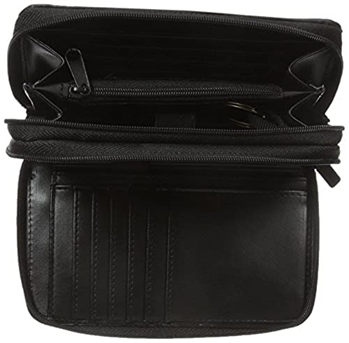 16. Buxton Heiress Double Zip Organizer Wallet