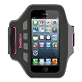 Belkin Neoprene Ease Fit Armband for iPhone 5 and 5s - Pink