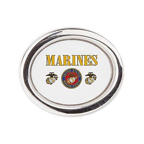 Fashion Ring (Oval) Marines Us Marine Corps Seal