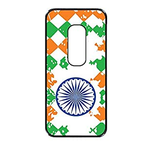 Vibhar printed case back cover for Motorola Moto X (2nd Gen) indiawheel