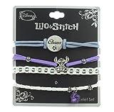 Disney Lilo & Stitch Ohana Bracelet 4 Pack