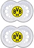 MAM Original 182210 Dummy for 6-16 Months Silicone with Borussia Dortmund Football Club Logo