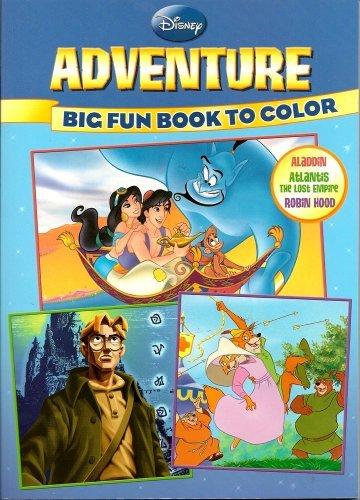 Disney Big Fun Book to Color ~ Adventure (96 Pages)