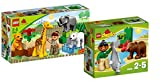 LEGO DUPLO Set - 4962 Baby Animal Zoo feeding and 10576 - 9120063891085