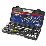 Workpro 52-Piece Socket Set (3/8