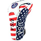 2015 Stars and Stripes American USA US Flag Golf Universal Club Head Covers - Driver Fairway Hybrid Replacements