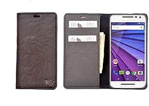 R&A Flip Cover Designed For HTC Desire 526