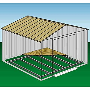 Amazon.com: Arrow Shed Foundation Kit Perfect for plywood floor finish