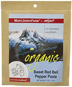 MaryJanesFarm Sweet Red Bell Pepper Pasta, 4.0 Ounce Bag