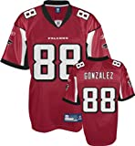 Tony Gonzalez Jersey: Reebok Red Replica #88 Atlanta Falcons Jersey - XX-Large