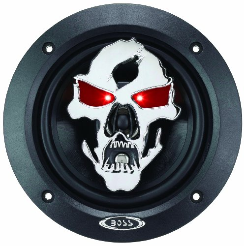 "Boss Audio Sk553 Phantom Skull 275-Watt 3 Way Auto 5.25"" Coaxial Speaker"