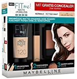 Maybelline New York Set Matt und Poreless Make-Up 120
