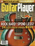 img - for Guitar Player Magazine December 2011 Rock Hard! Spend Less! - 10 Ways to Play Like Chuck Berry book / textbook / text book