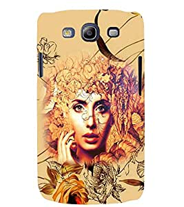 PRINTSWAG FLOWERS WITH GIRL Designer Back Cover Case for SAMSUNG GALAXAY S3