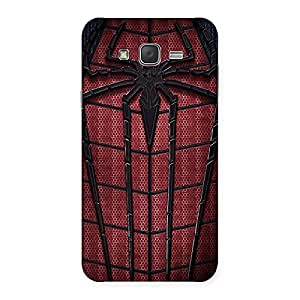 Enticing Cloths and Log Back Case Cover for Galaxy J7