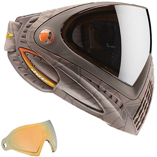 Dye I4 Thermal Paintball Googles W/ Extra Faded Bronze Sunrise Lens - Ul Dust Orange