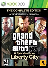 Grand Theft Auto IV & Episodes from Liberty City: The Complete Edition   Xbox 360