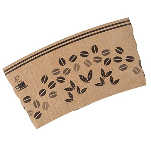 Choice Printed Coffee Cup Sleeve / Jacket / Clutch For 8 Oz. Cups - 1200 / Case
