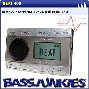 BEAT 400 IN CAR DAB DIGITAL RADIO TUNER